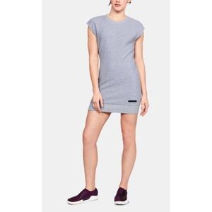 NEW Under Armour Unstoppable Sweatshirt Dress XS